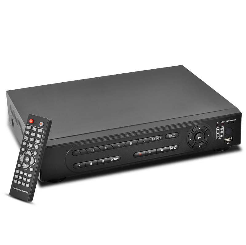 4-Channel DVR Surveillance Set – Dual Stream H264 DVR