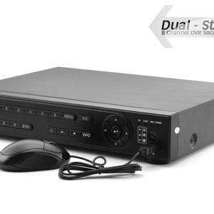 8-Channel DVR Kit – Dual Stream H264 DVR 1TB