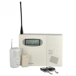 Wireless Control Alarm System For Homes, Offices & Businesses