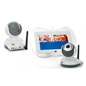 7 Inch Baby Monitor 2x Camera Gallery Image 2