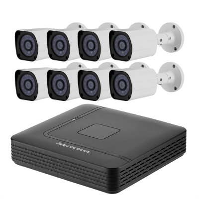 8 Channel Full-HD AHD DVR System – 1TB HDD Included
