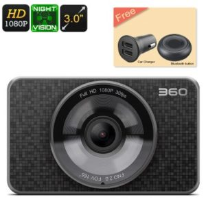Dash Cam 360 – Full HD 1080P, 60FPS