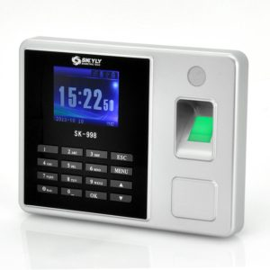 Time Attendance Fingerprint System – 2.8″ Color Screen, LAN + USB Ports